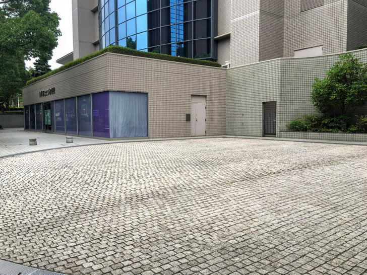 多摩海上ビル診療所駐車場