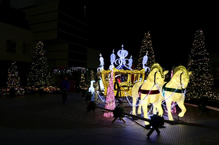 永山クリスマスイルミネーション