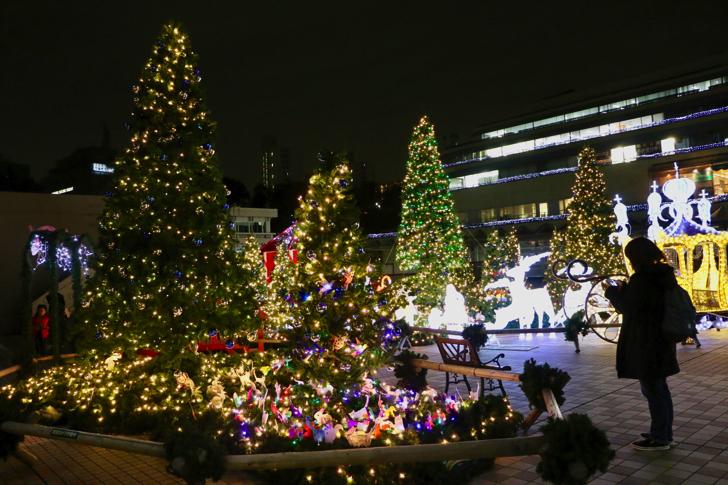 永山クリスマスイルミネーショ