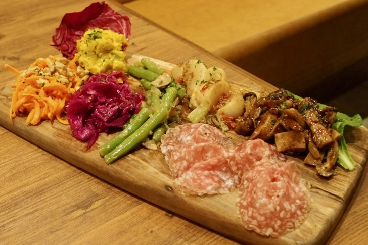 前菜盛り合わせ(1,480円)