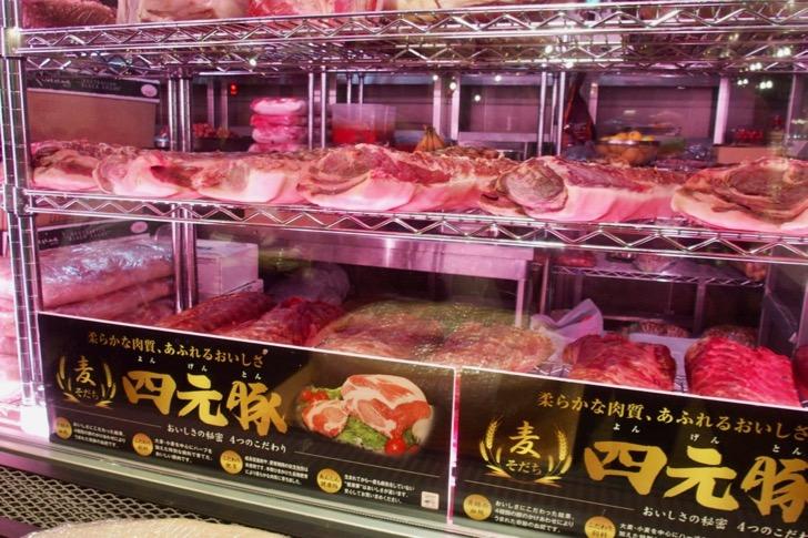 「四元豚」も熟成肉
