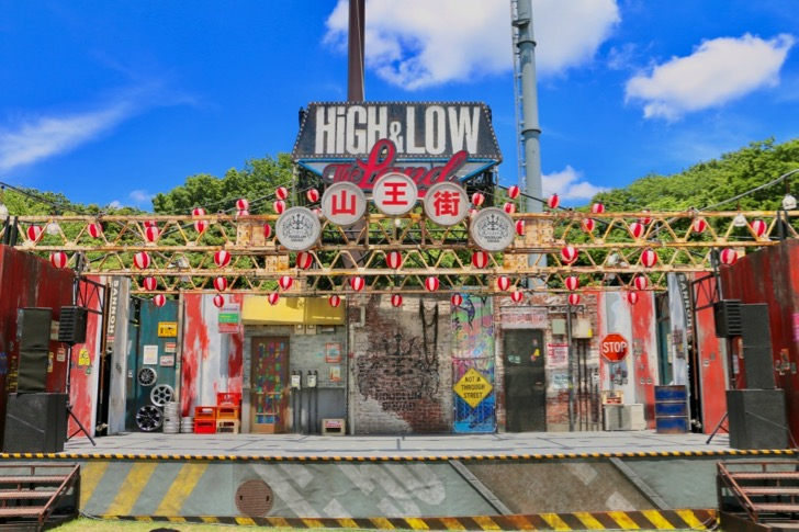 「HiGH&LOW THE LAND」と「HiGH&LOW THE MUSEUM」