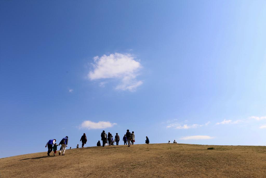 鶴牧東公園「鶴牧山」