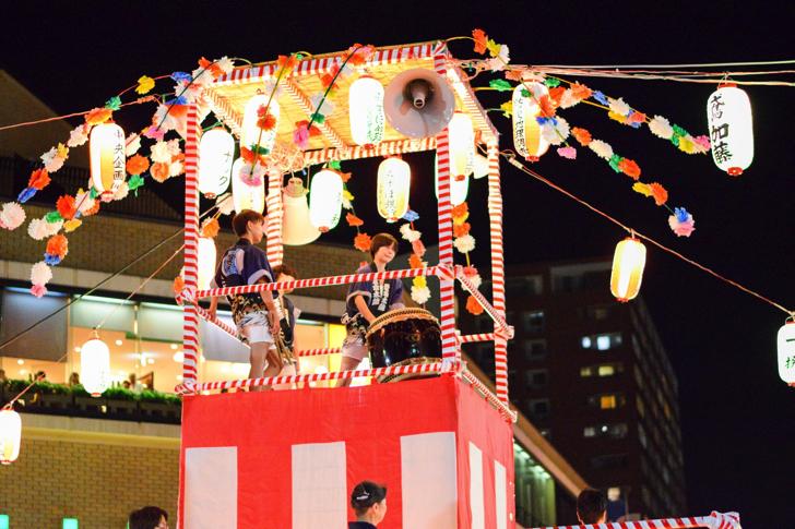 落合夏祭盆踊り大会
