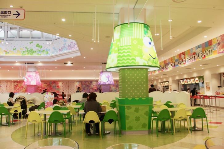 サンリオレインボー ワールドレストラン