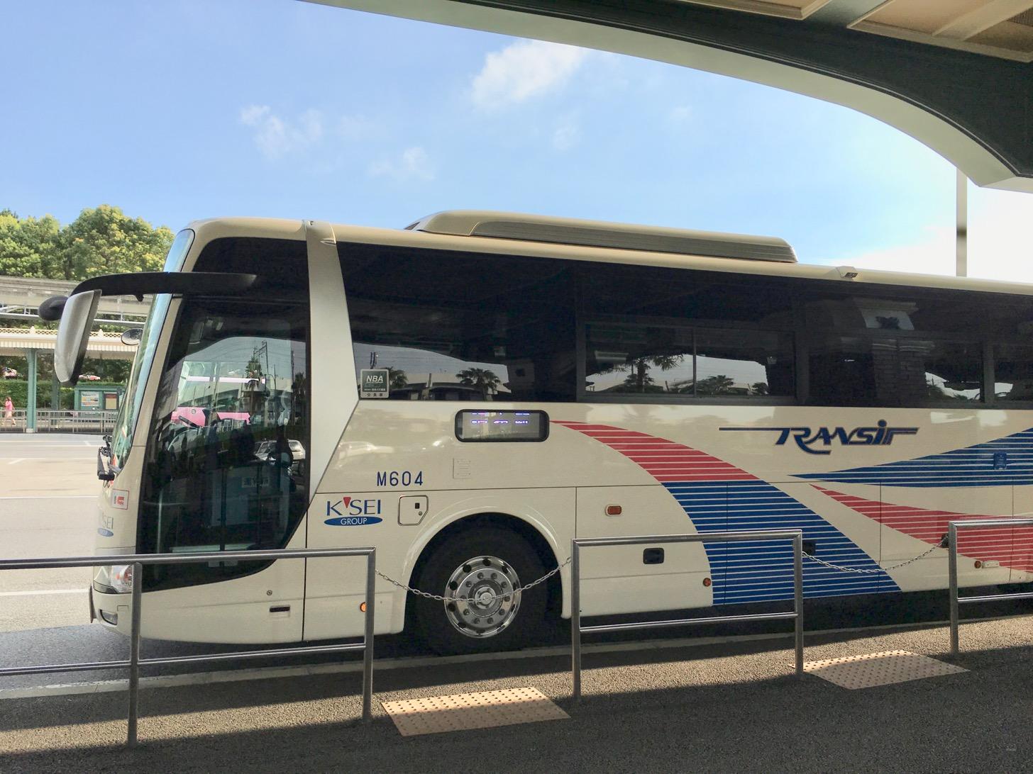 調布駅からディズニーランド・シー行きの高速バス