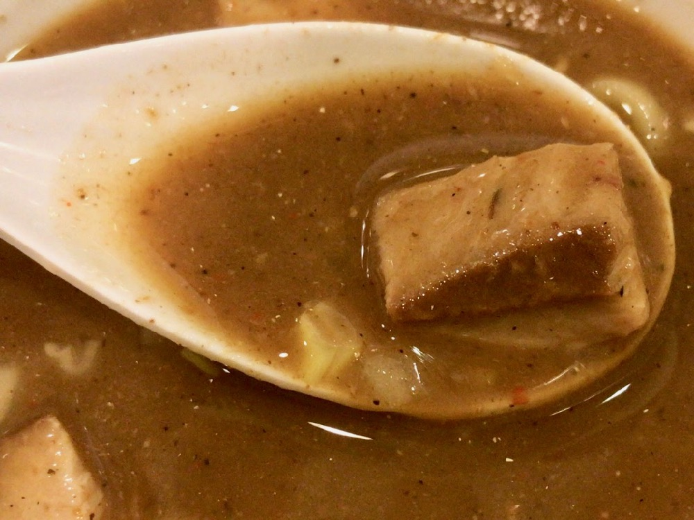 つけめん桜坂で濃厚煮干しつけ麺