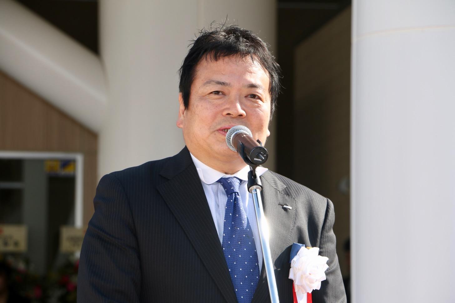 京王電鉄株式会社 常務取締役 開発事業本部長 中岡一紀さん