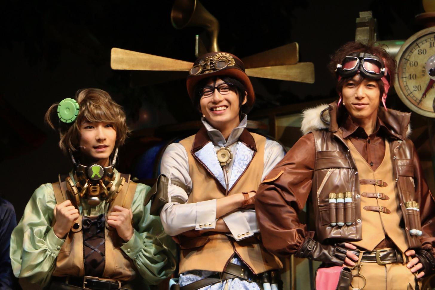 左から佐野真白さん、中尾拳也さん、瀬戸祐介さん