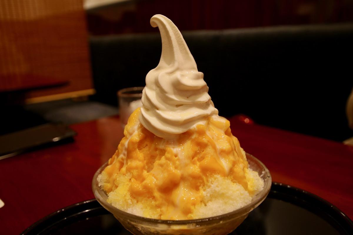 マンゴーミルク(ソフトクリームトッピング)