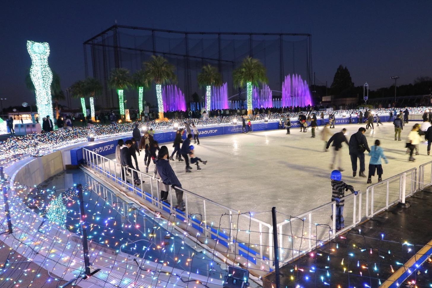 「アイススケート 昨年の様子2」