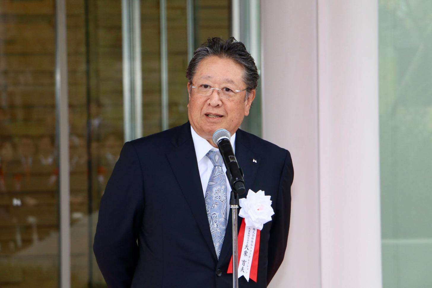 長谷工コーポレーション代表取締役会長 大栗 育夫さん