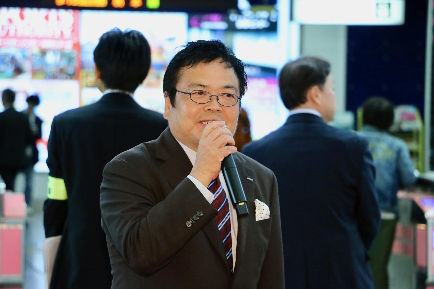 京王電鉄株式会社 常務取締役 鉄道事業本部長 仲岡 一紀さん