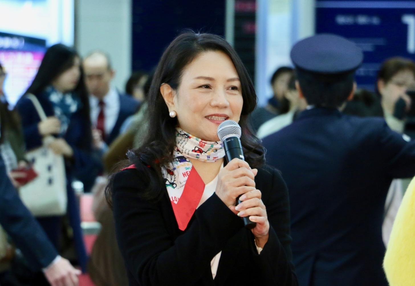(株)サンリオエンターテイメント代表取締役社長 小巻亜矢さん