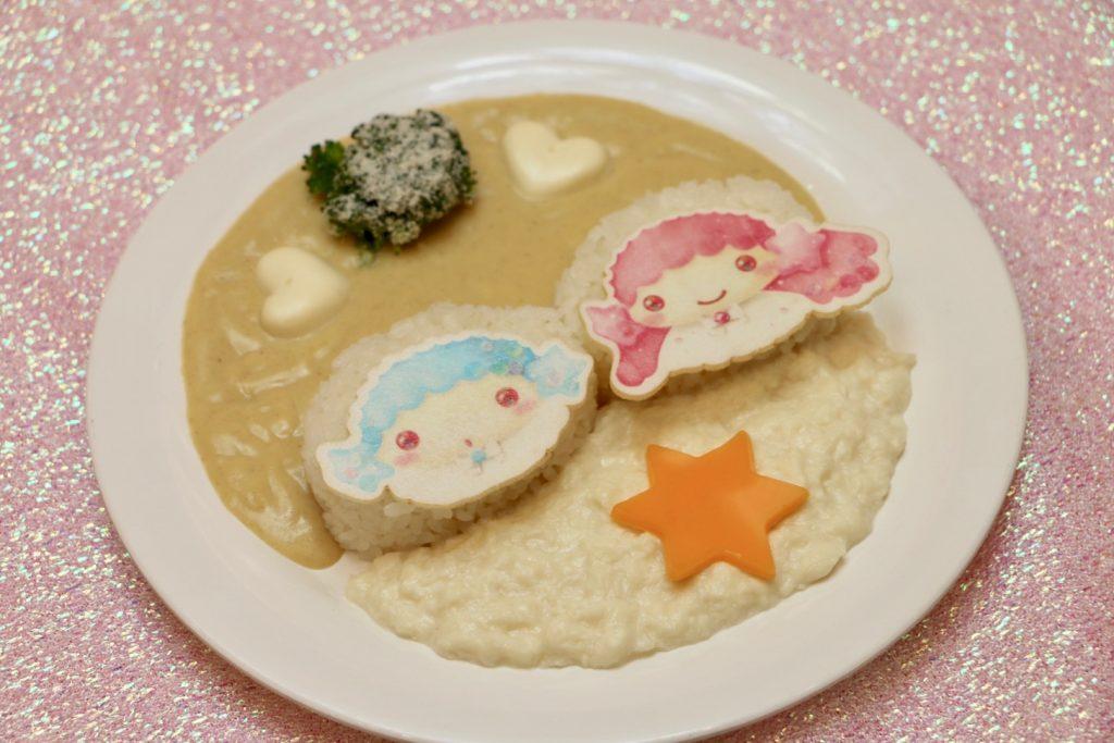 キキララのホワイトクリスマスカレー(1400円)