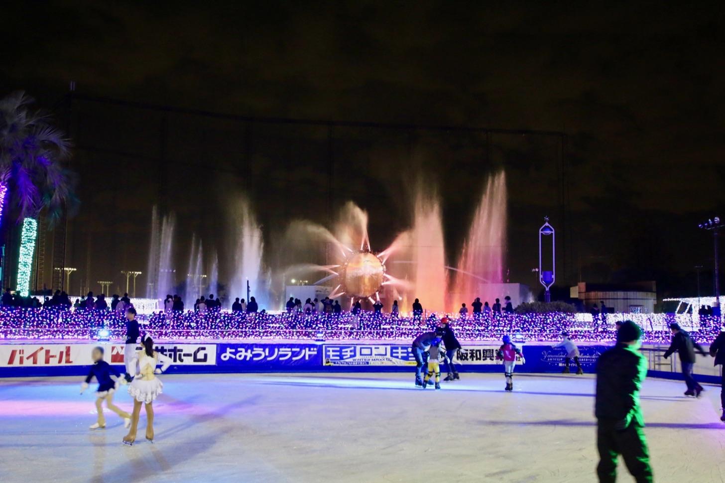 アイススケートリンク ホワイトジュエル