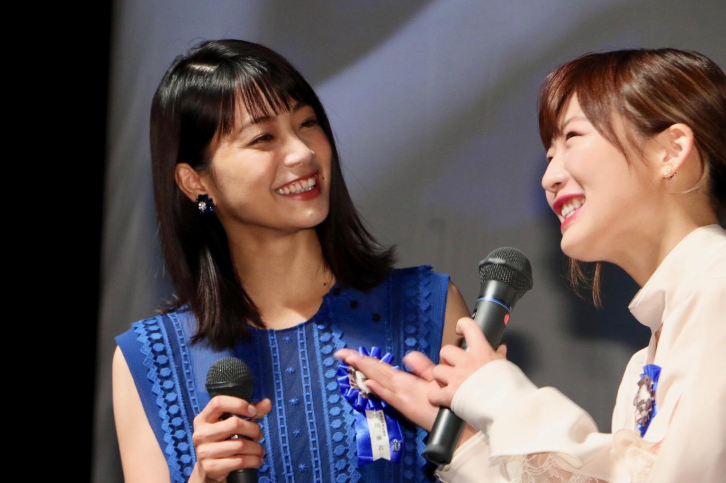 深川麻衣さんと伊藤沙莉さん