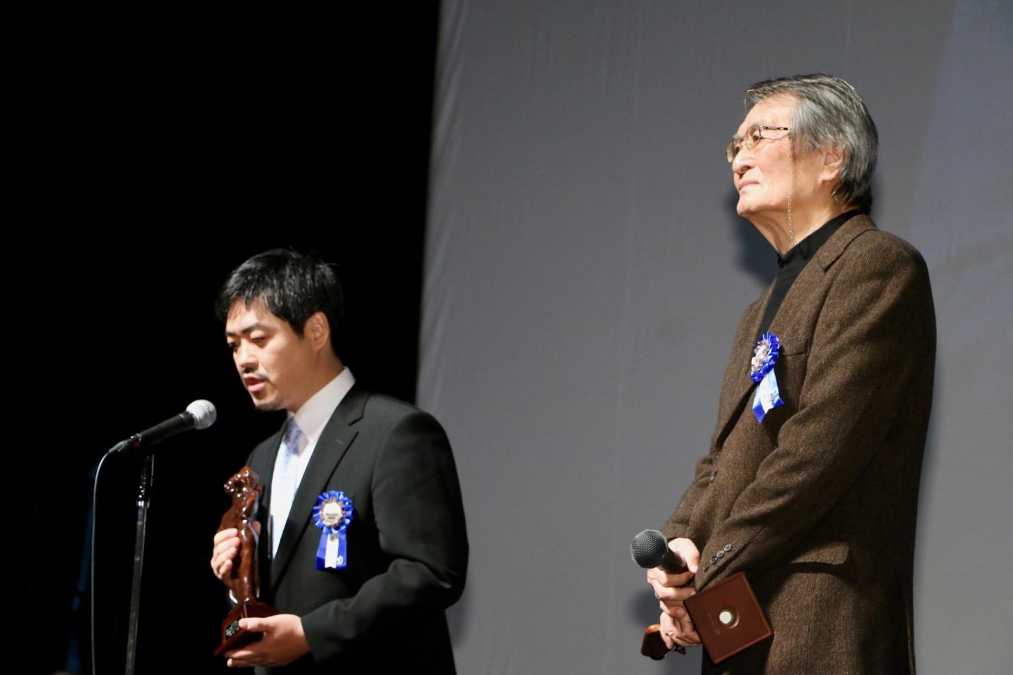 特別賞『モリのいる場所』沖田修一監督、山﨑努さん