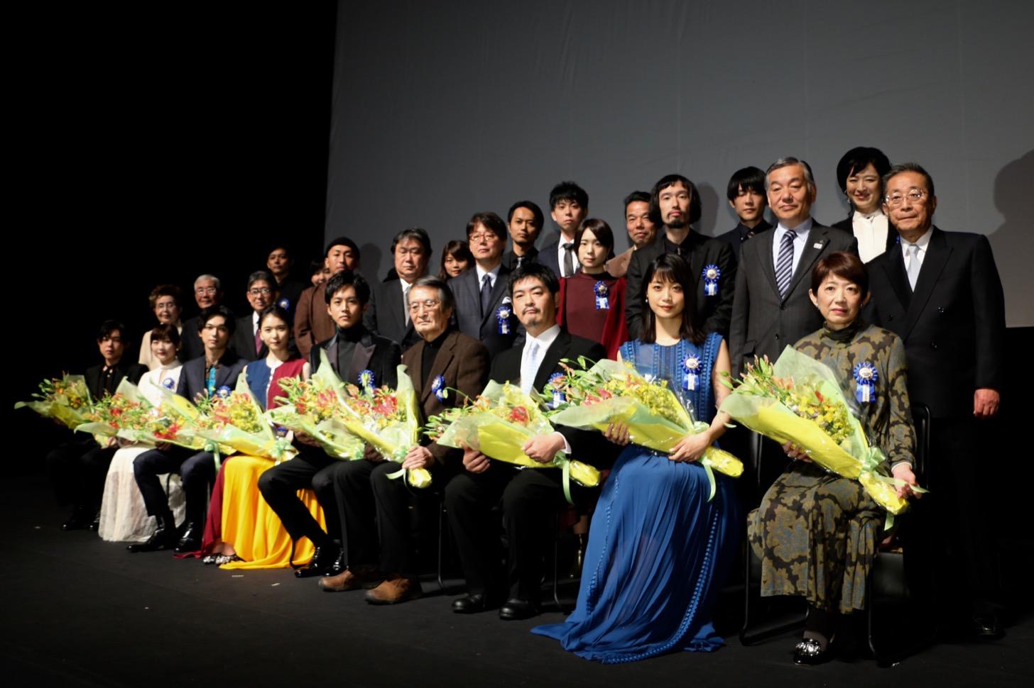 第10回TAMA映画賞授賞式のようす (C)多摩ポン