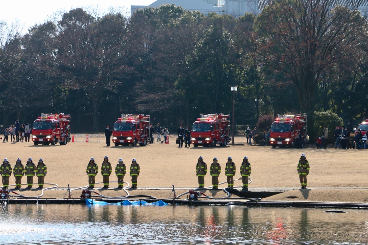 平成31年多摩市消防団出初式