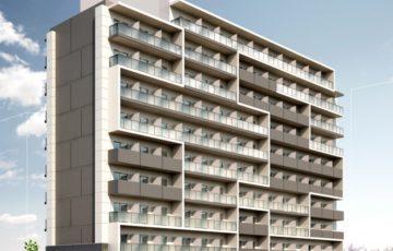 「東京都多摩市鶴牧1丁目計画」完成予想図