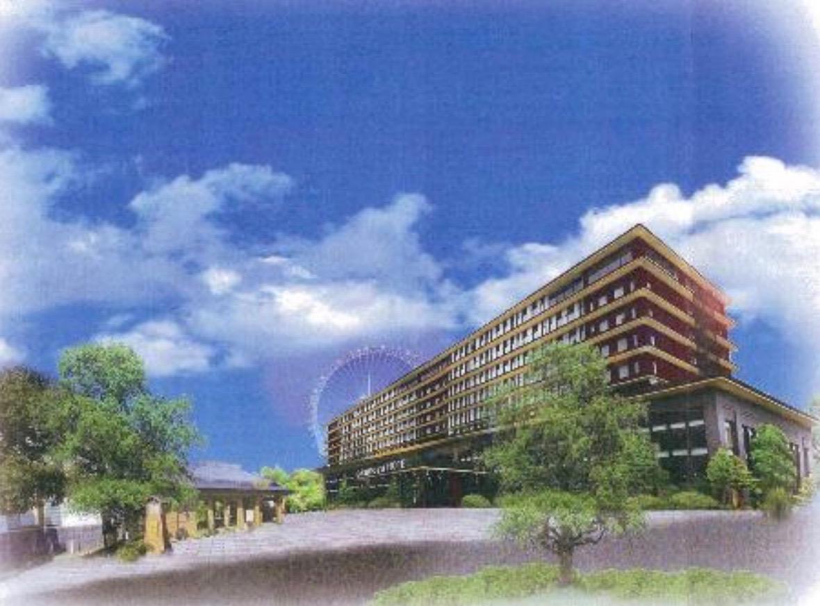 宿泊施設及び商業施設のイメージ画像
