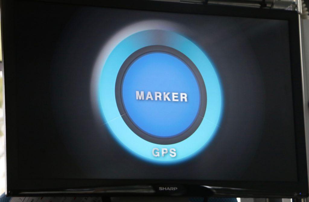 磁気マーカーによる自動走行