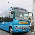 自動運転バス正面