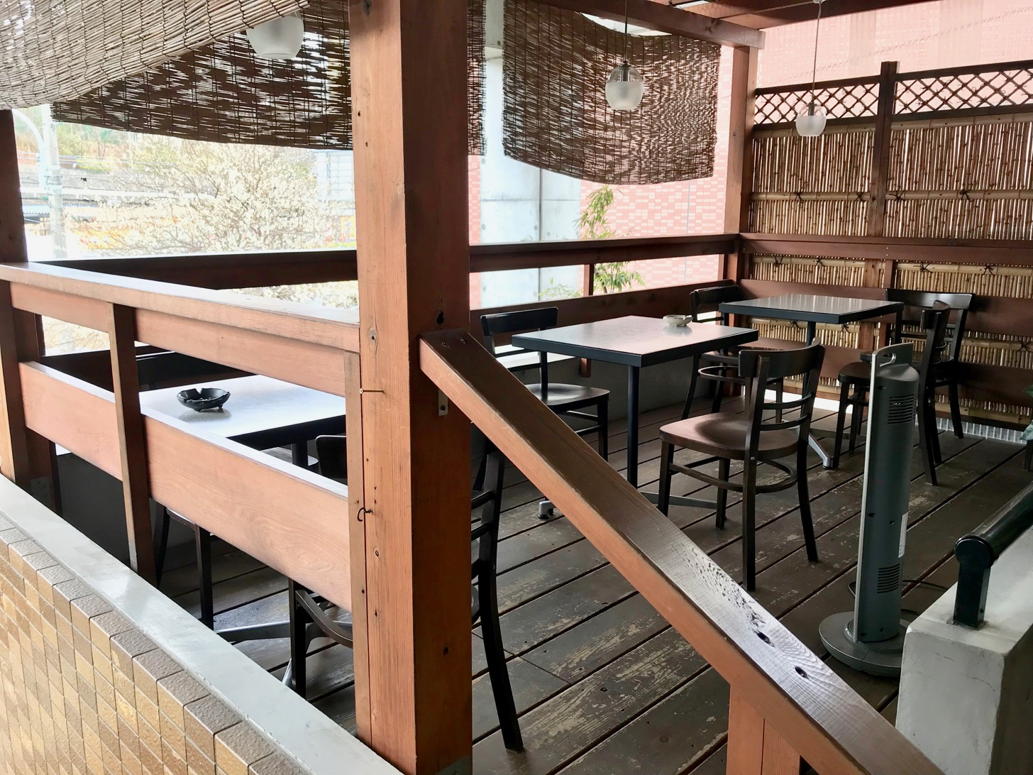 カフェ家和楽 テラス席