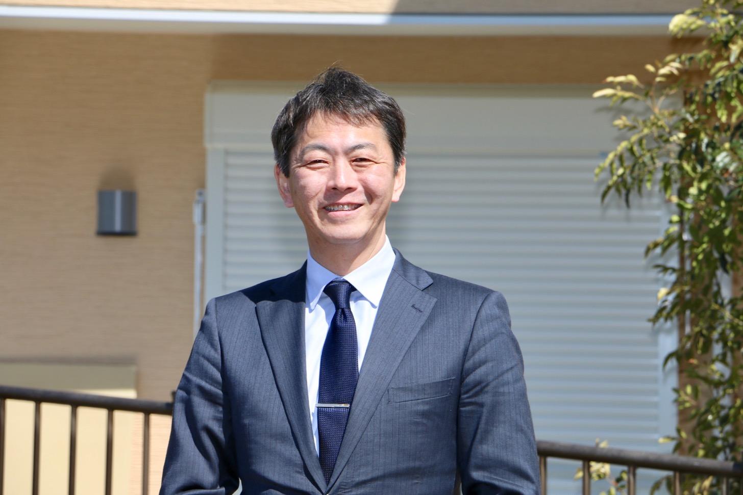 LIXIL不動産ショップ中央企画株式会社・代表取締役の田岡 浩一郎さん