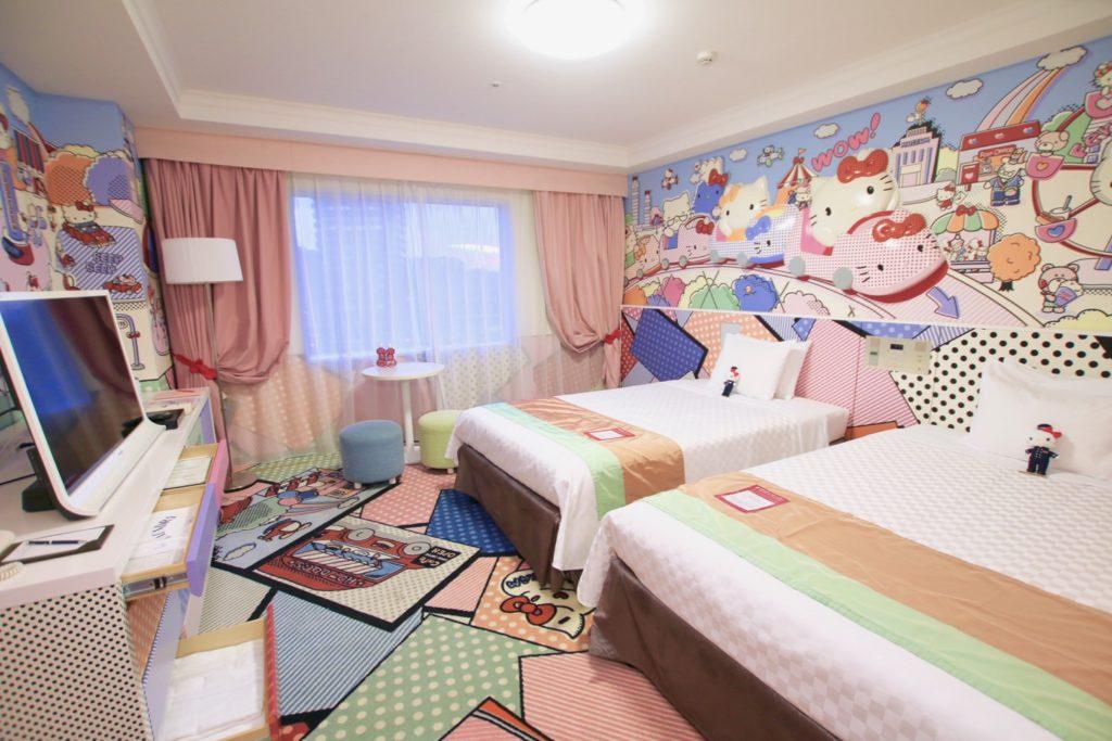 京王プラザホテル多摩もキティタウンルーム