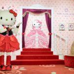京王プラザホテル多摩の2階ロビーにハローキティのフォトスポットが完成!