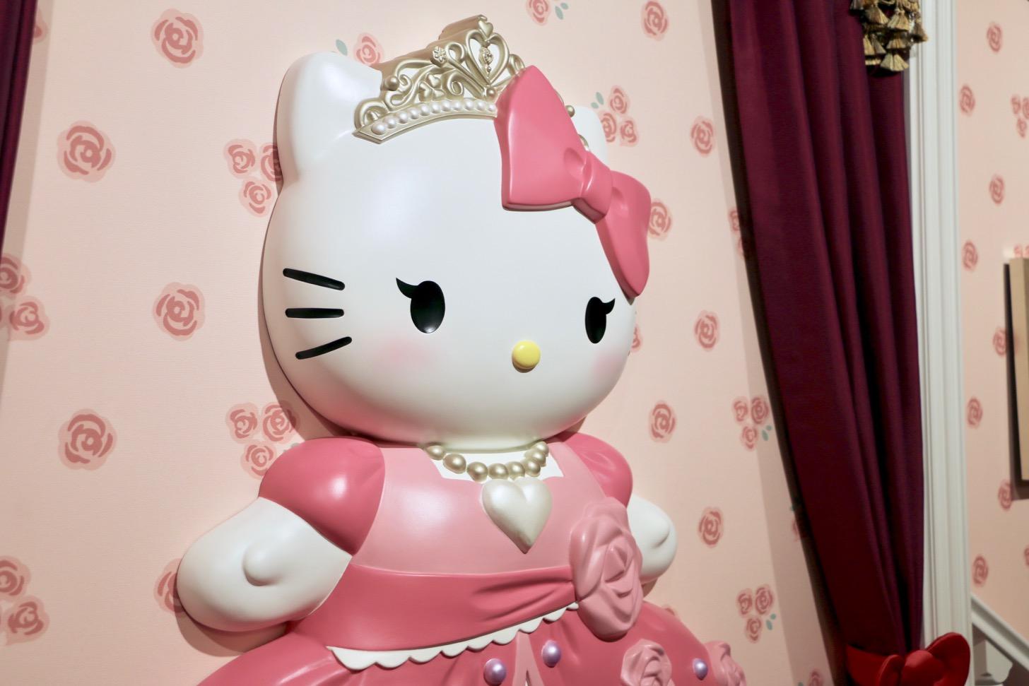 長いまつげとほんのりピンクのチークが特徴の「プリンセスキティ」