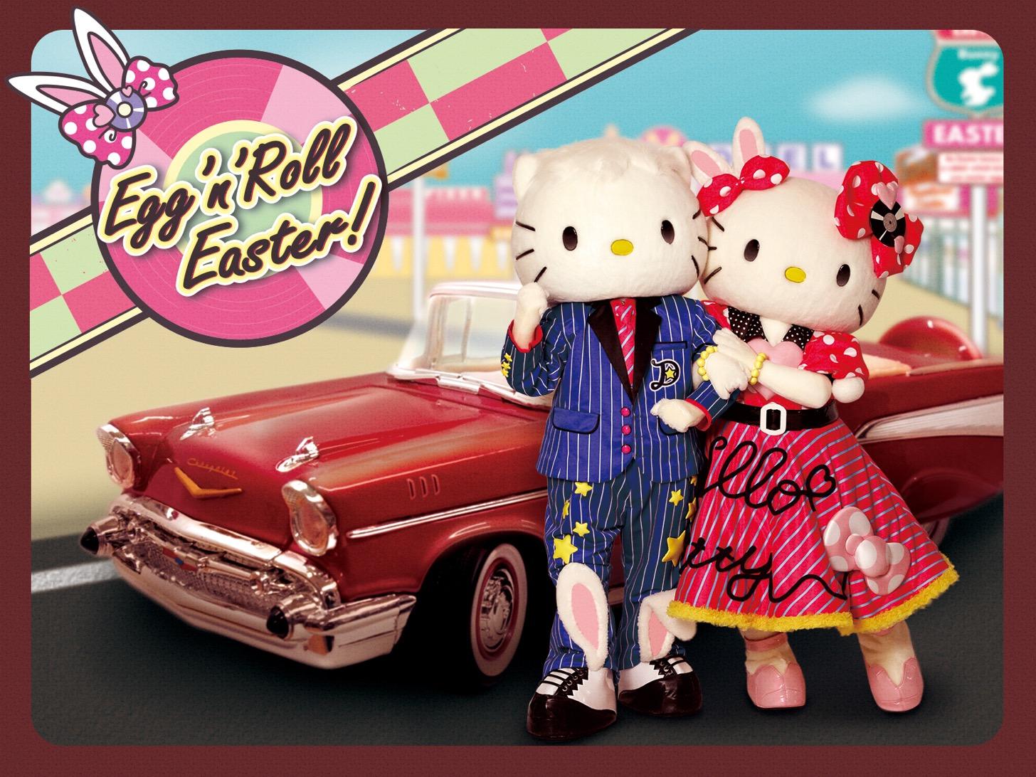 新作参加型イースターショー「Egg'n'Roll Easter!」