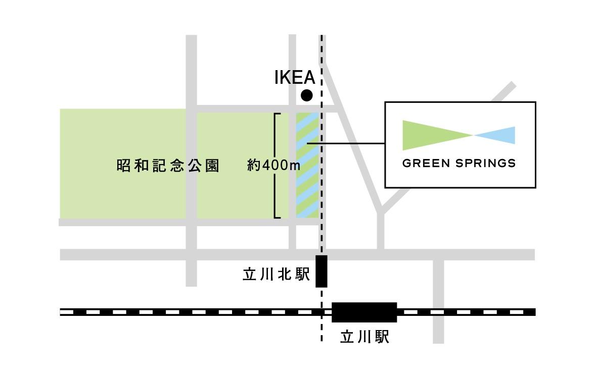 GREEN SPRINGS_マップ
