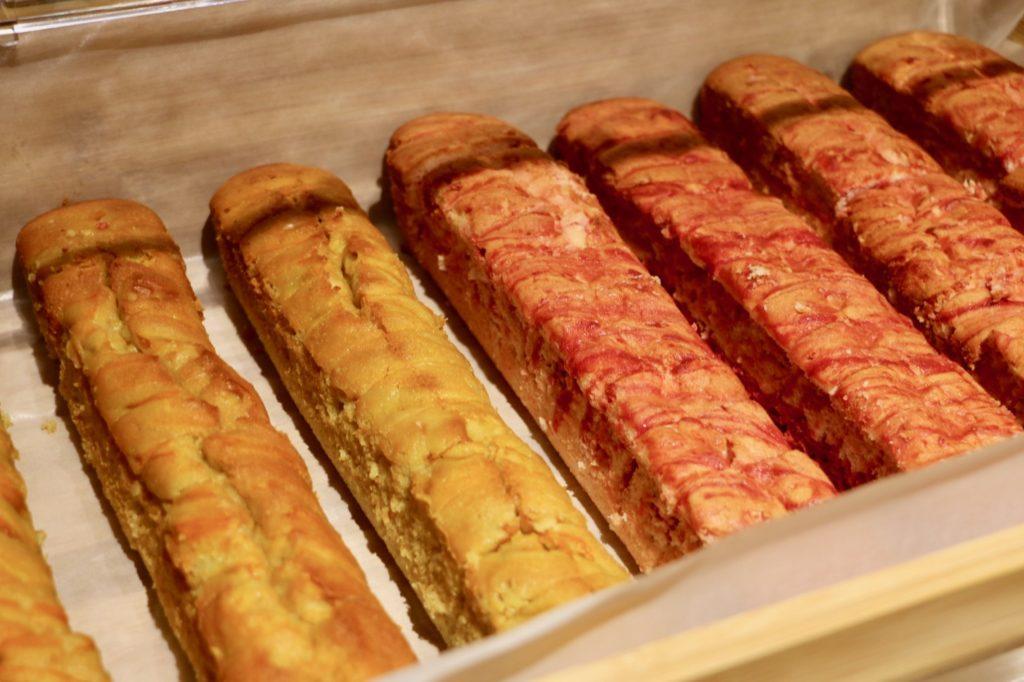 安納芋&イチゴのパウンドケーキ
