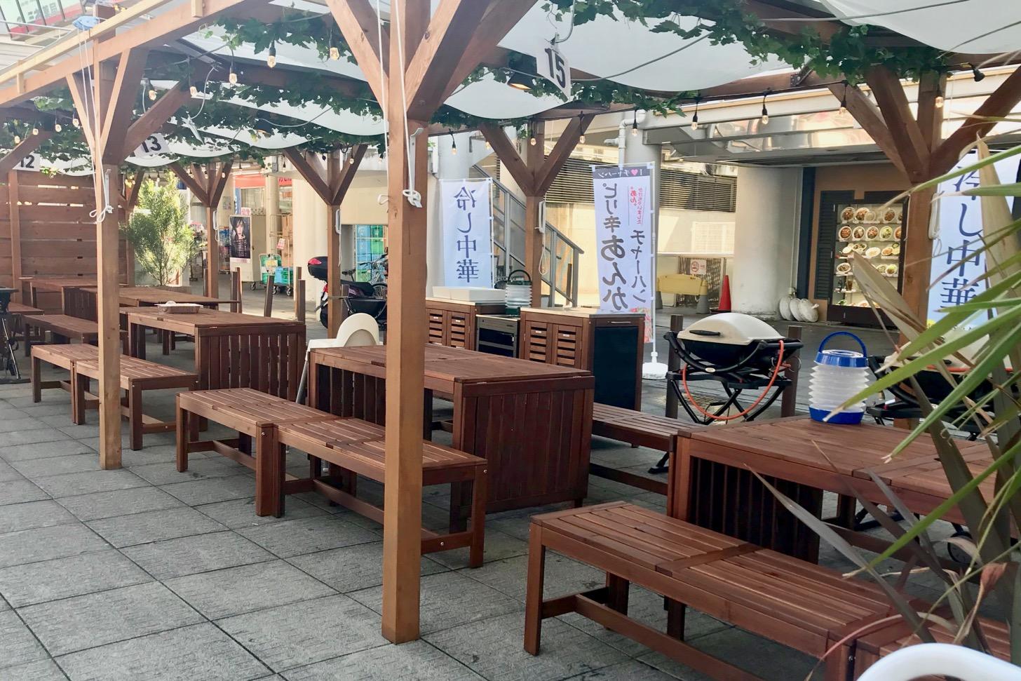 デジキューBBQガーデン 永山店