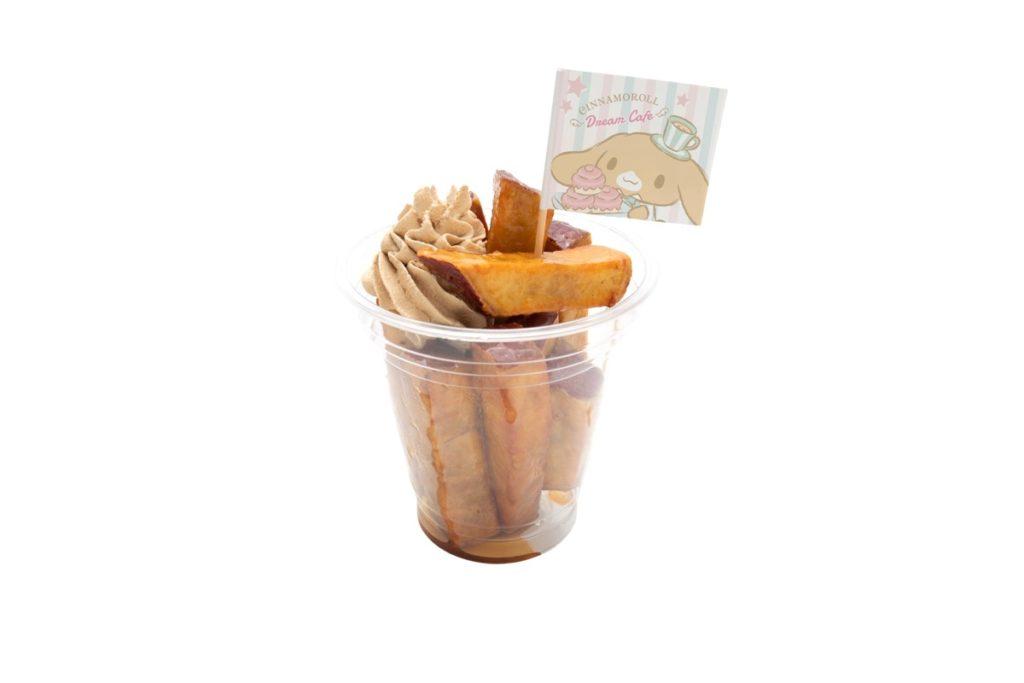 カプチーノのコーヒークリームさつまいもスティック 450円(税込)