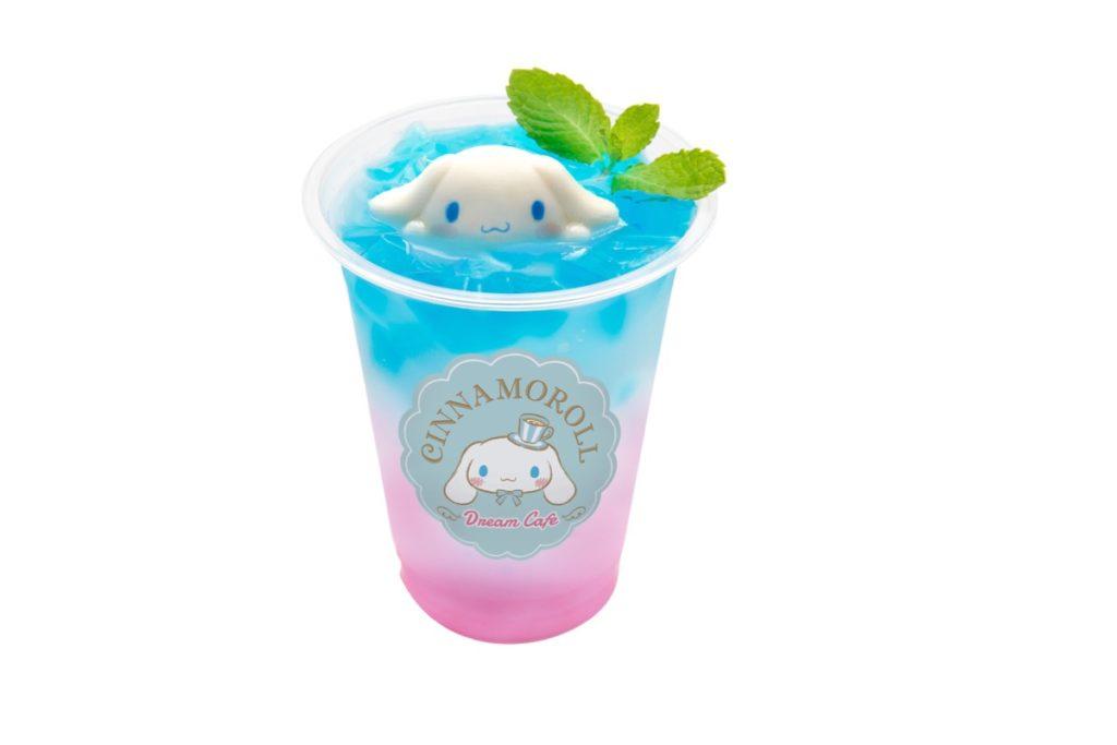シナモンのピンクレモンカルピスソーダ 650円(税込)
