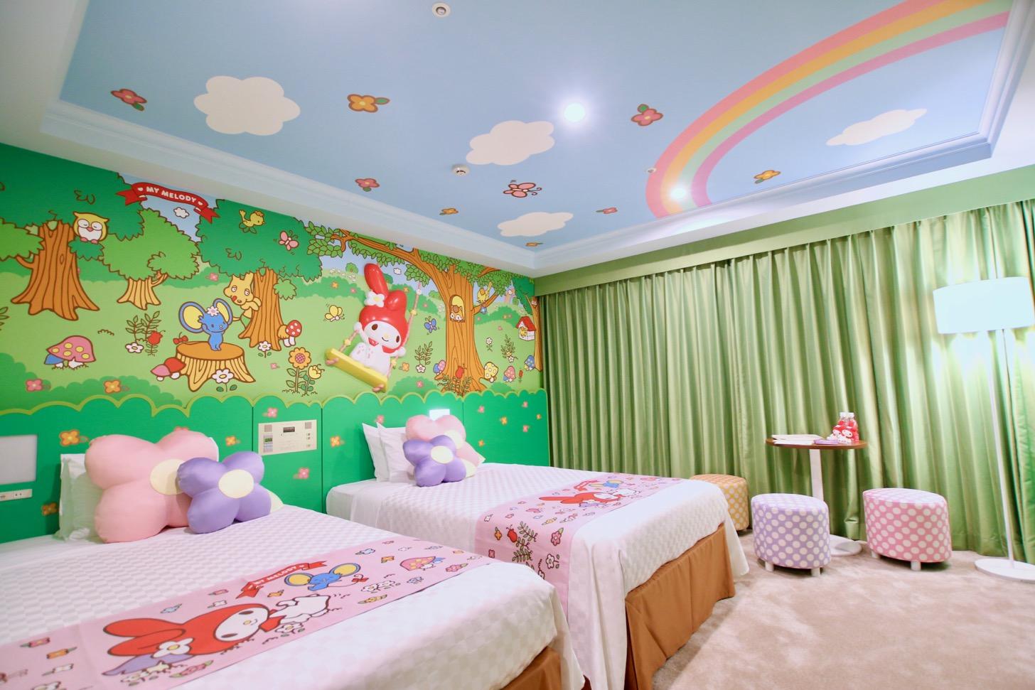 京王プラザホテル多摩 マイメロディ ルーム
