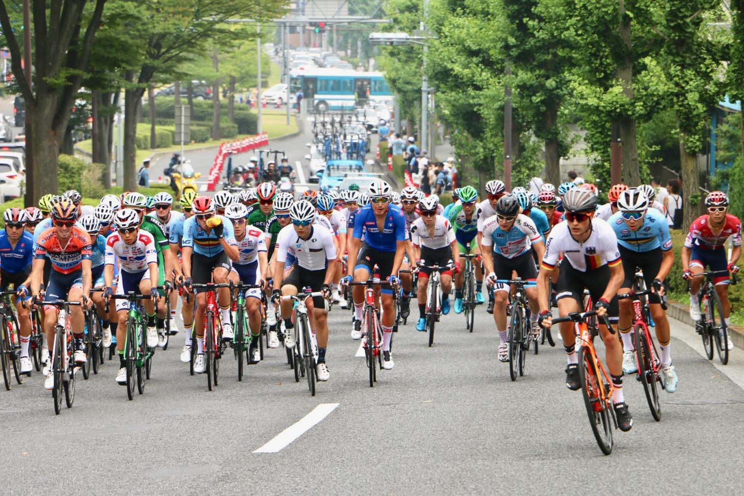 東京2020テストイベント「READY STEADY TOKYOー自転車競技(ロード)」