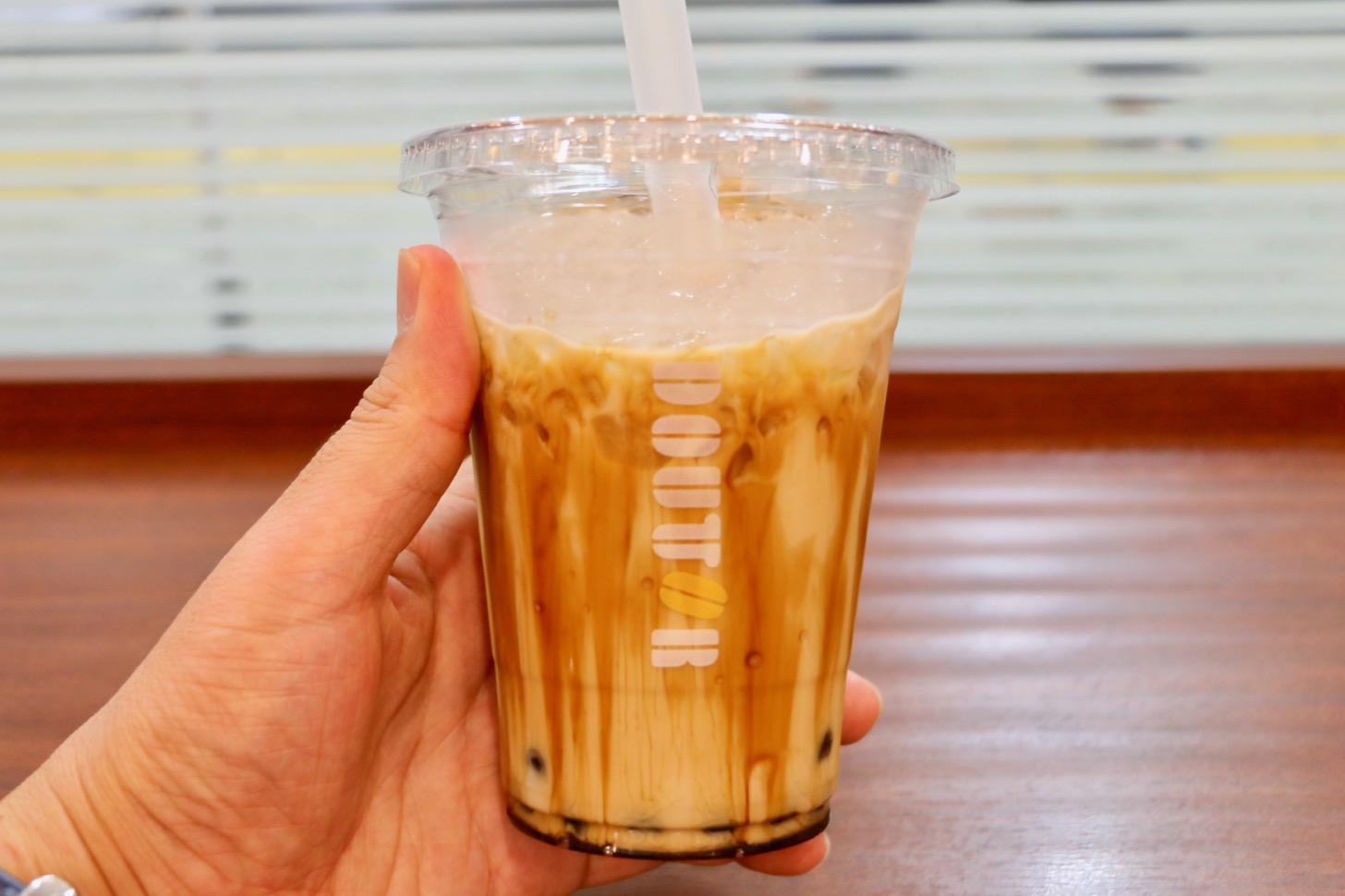 ドトールコーヒーショップ 京王多摩センター店 黒糖タピオカミルク