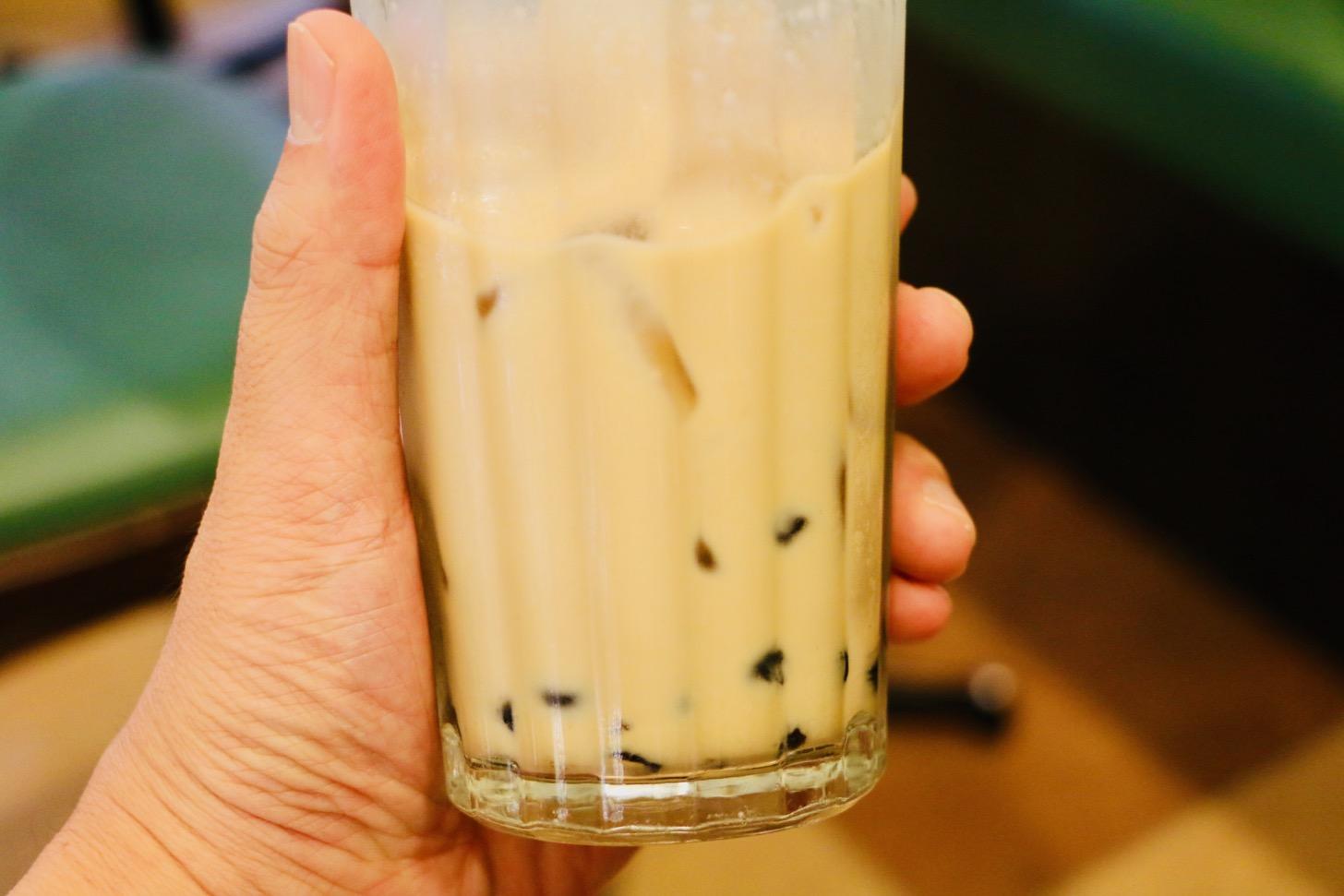 モリバコーヒー 黒糖タピオカミルクティー(レギュラー490円税込)