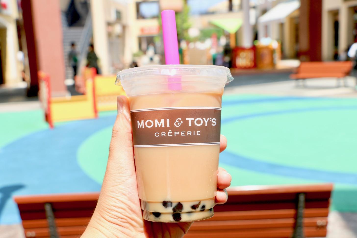 MOMI&TOY'S 三井アウトレットパーク南大沢店 タピオカミルクティ