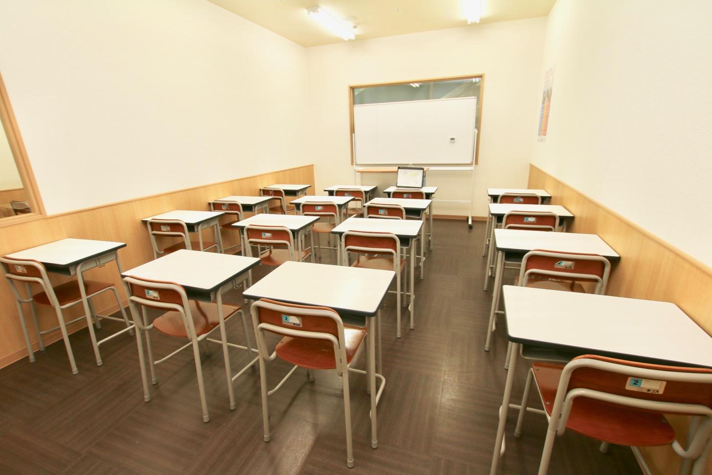 志學舎 多摩センター教室 5つの教室がある