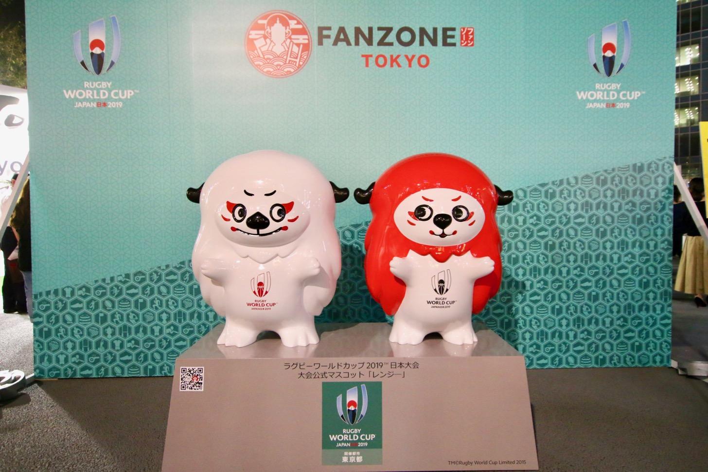 【ラグビーワールドカップ2019パブリックビューイング】調布駅前広場「ファンゾーン in 東京」