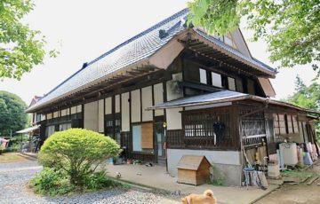 川井家住宅主屋(南東面)