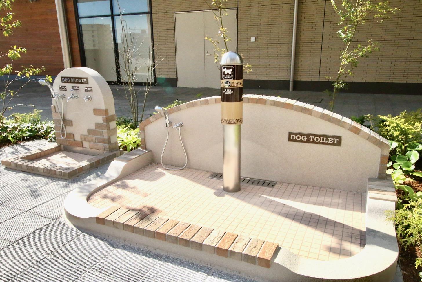 南町田グランベリーパーク ペットトイレ