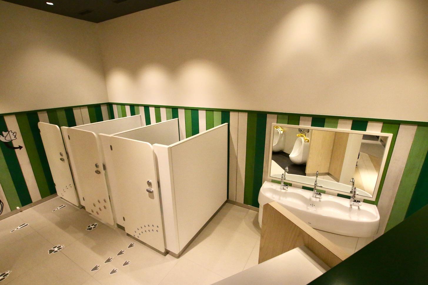 南町田グランベリーパーク キッズ向けトイレ キッズトイレ
