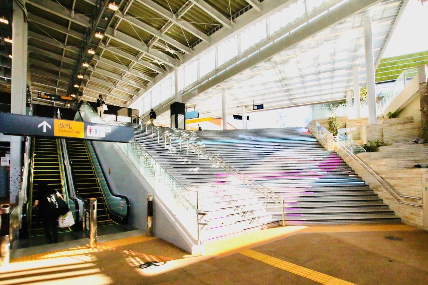 南町田グランベリーパーク駅構内